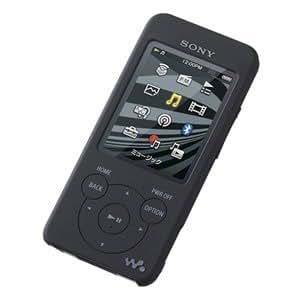 SONY NW-S780/NW-E080シリーズ専用 シリコンケース ブラック CKM-NWS780/B