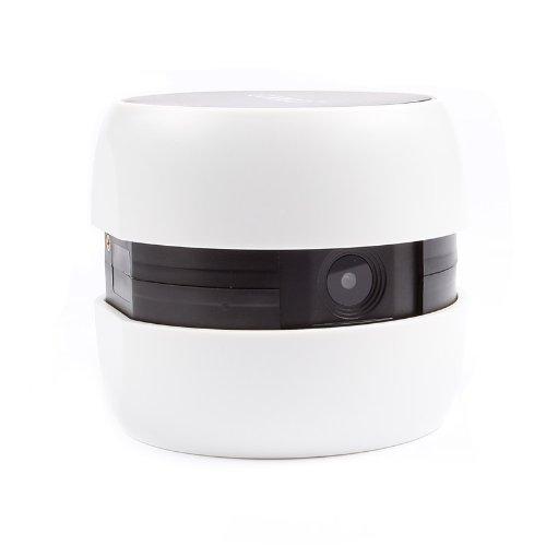 Googo Gg-25 2.4Ghz Mini Portable Wifi Wireless Video Surveillance Camera Baby Call Nursery Monitor, White/Black