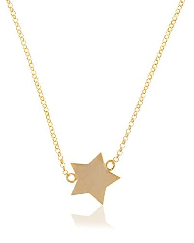 Córdoba Jewels Collar plata de ley 925 milésimas bañada en oro