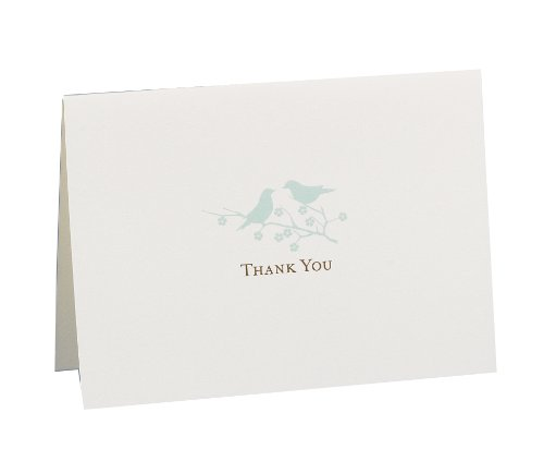 Hortense B. Hewitt Wedding Accessories Thank You Note Cards, Harmony, Pack of 50