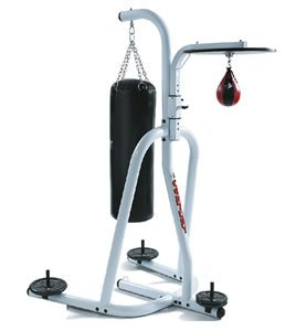 Free-Standing Punch Bag Stand With FREE Speedball, Platform, Wraps, Punch Bag + Gloves