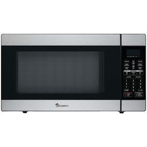MAGIC CHEF MCD1811ST 1.8 Cubicft, 1,100Watt Stainless Microwave with Digital Touch Picture