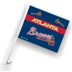 Atlanta Braves - MLB Car Flags - Buy Atlanta Braves - MLB Car Flags - Purchase Atlanta Braves - MLB Car Flags (Flagline.com, Home & Garden,Categories,Patio Lawn & Garden,Outdoor Decor,Banners & Flags,Sports Flags & Banners)