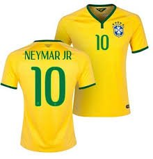 Neymar jersey Brazil | Brasil World Cup 2014 (L)