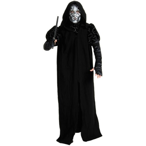 Harry Potter - Death Eater Deluxe Adult Halloween Costume (Standard One-Size)