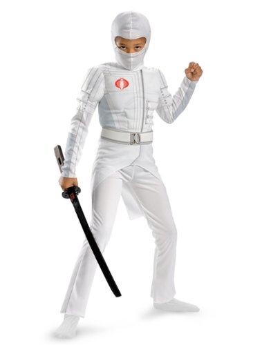 Disguise Boys GI Joe Movie Storm Shadow Light Up Deluxe Muscle Costume