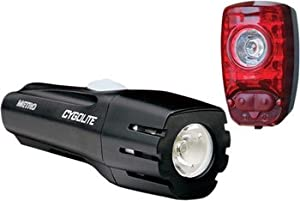 Cygolite Metro 300 Lumen Headlight Hotshot Taillight USB Rechargeable Bicycle Light... by Cygo Lite