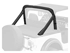 Bestop 80008-15 Black Denim Sport Bar Cover for 86-90 Wrangler YJ