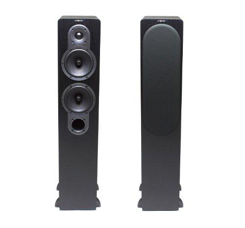 Energy Ef-500 Floorstanding Loudspeakers - Pair (Black)