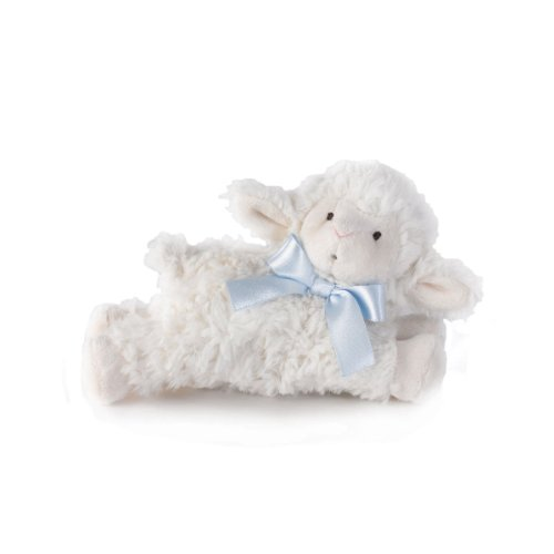 Nat And Jules Blue Lamb Rattle - 1