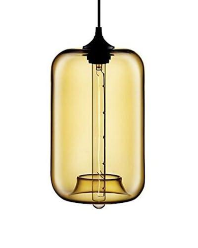 Lo+deModa Lámpara Sipping Three Amarillo Translúcido