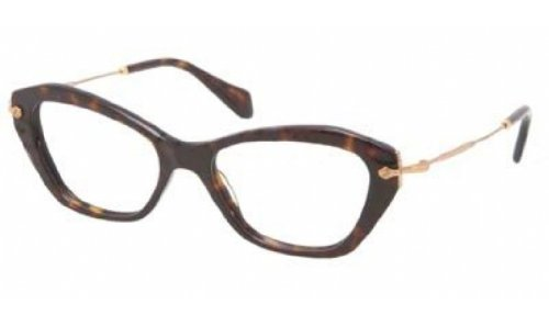 Miu Miu Miu Miu Glasses Tortoise 04LV Cats Eyes Sunglasses