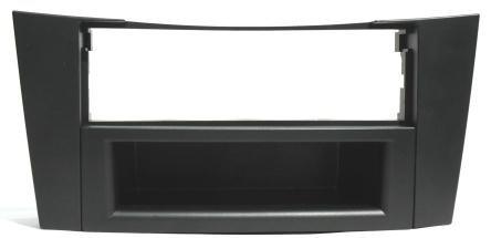 #6101# Autoradio Radioblende für MERCEDES BENZ E-Klasse E 240/W211 Limousine // E 200 T/S211 Kombi - BLENDE RAHMEN EINBAURAHMEN in schwarz