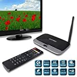 Generic HD 1080P Quad Core Android 4.2 TV Box (Mini PC), 2GB RAM,8GB HDMI WIFI Bluetooth XBMC,Factory Sell
