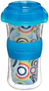Munchkin Click Lock Insulated Big Kid Cup - 9 oz, Blue