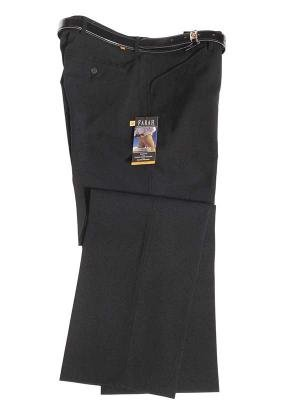 Mens Farah Trousers Regular Fit Flat Front Slant Pocket 32 Long