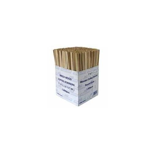 RY 3842 Wooden Coffee Stirrers, Pack of 1000