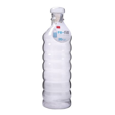Re-Fill Glass Water Bottle