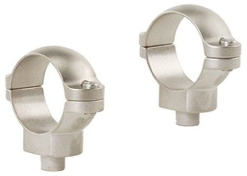 Leupold & Stevens Quick Release 30Mm Medium Rings - Silver
