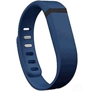 Replacement Wrist Band for Fitbit Flex (Navy, Large)