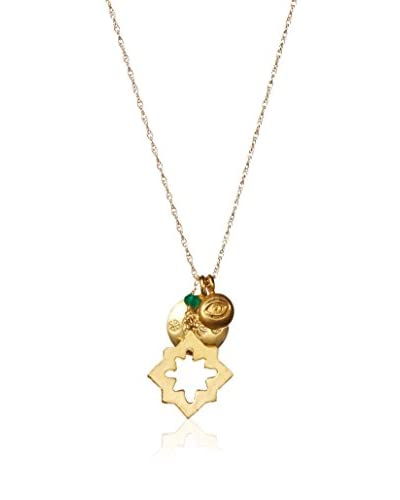 Wendy Mink Gold Charm Necklace