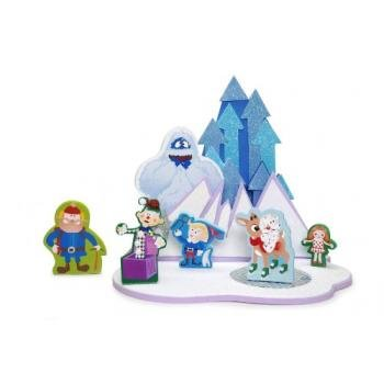 Darice Kids 3D Craft Kit Snow Scene