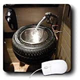 FLORENE HUMOR – TIRE BATH SINK IN FLORIDA EATERY – MOUSE PADS