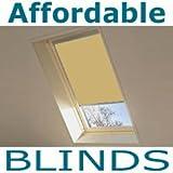 Parchment Blackout Roof Blind for Velux GGL/GFL/GHL U04 or 804 or *7