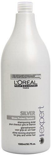L'Oreal Professional Serie Expert Silver Shine Reviving Shampoo, 50.7 Ounce (Italian Professional Shampoo compare prices)