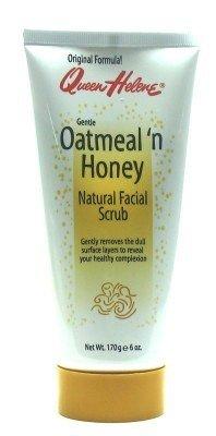 Queen Helene Oatmeal 'N Honey Natural Facial Scrub 6 oz. Tube (Case of 6)