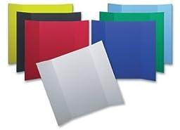 Flipside 31535 White Bi-Fold Foam Board - Case of 24