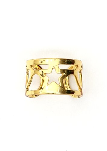 Star Ear Cuff Wrap Gold Tone Earring Fashion Jewelry