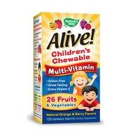 Nature's Way Alive Children's Multi-Vitamin Chewable Tablets