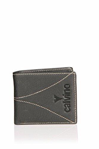 Calvino Calvino 801 Black Men's Wallet