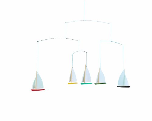 Flensted Mobiles Nursery Mobiles, 5 Dinghy Regatta