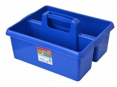 wham-in-plastica-colorata-per-pulizia-utensili-da-cucina-caddy-contenitore-per-rifiuti-blu