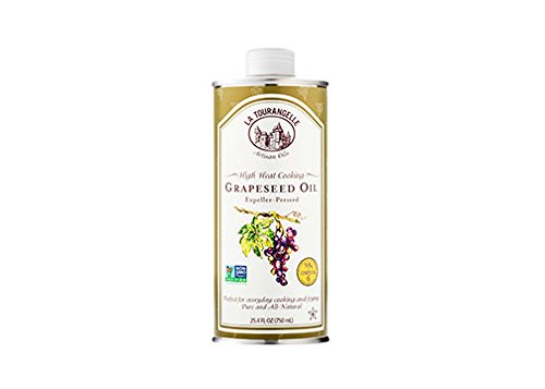 La Tourangelle Grapeseed Oil - Cooking & Body Care - Expeller-Pressed, Non-GMO, Hexane-Free, Kosher - 25.4 Fluid Ounce