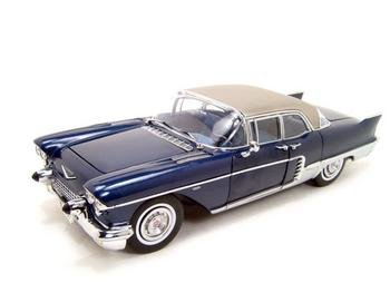 Buy 1957 Cadillac Brougham Blue 1:18 Diecast Model