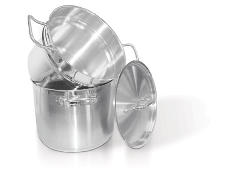 Homichef 9.5 Quart Stainless Double Boiler
