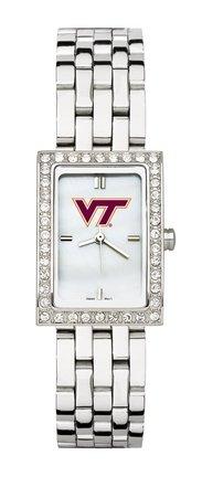 Virginia Tech Hokies Ladies Allure Watch Stainless Bracelet