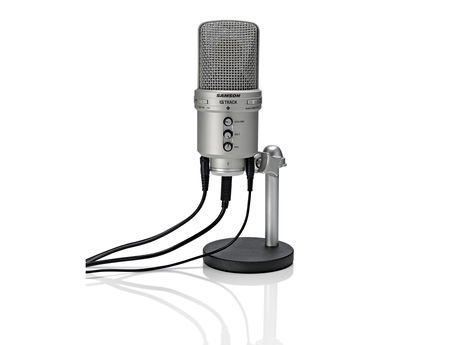 Samson Gm1U Combined G-Track Usb Condenser Microphone And Audio Interface For Recording