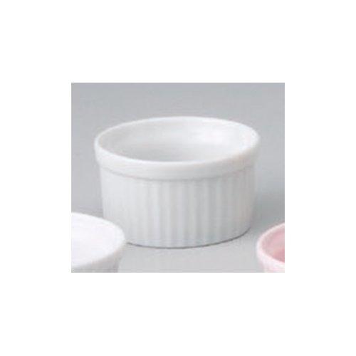 Souffle Plate utw680-51-624 [2.8 x 1.5 inch 3floz] Japanece ceramic White 2 1/2 inch souffle tableware