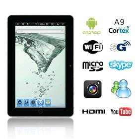 10.2 inch A9 Android 2.3 Tablet PC Zenithink Z102 (Flytouch 5) Multi-Touch GPS WiFi HDMI