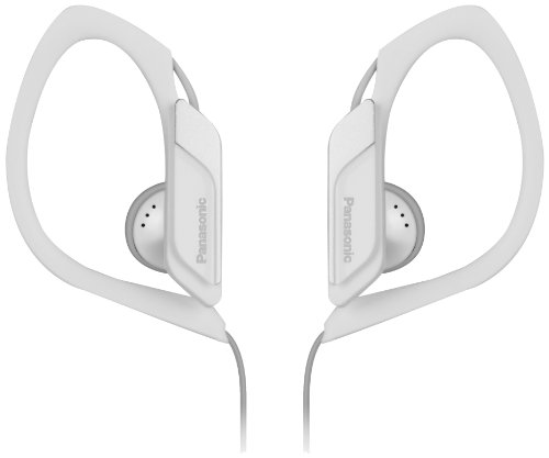 Panasonic Water/Sweat Resistant In Ear Sports Headphone - White