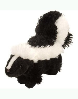 "8"" Skunk Soft Toy Animal - 1"