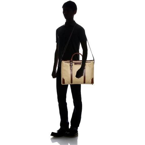[ウルティマ トウキョウ] ultima tokyo マルチェッロ ハンドル長さ調整機能付き ビジネストート(A4サイズ・ショルダーベルト付き) 77593 05 (ベージュ)