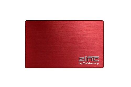 CnMemory Zinc externe Festplatte 500GB (6,4 cm (2,5 Zoll), USB 3.0) rot