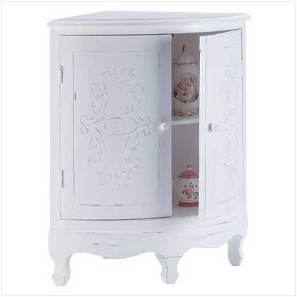 Cheap Distressed White Wood Perfect Bathroom Corner