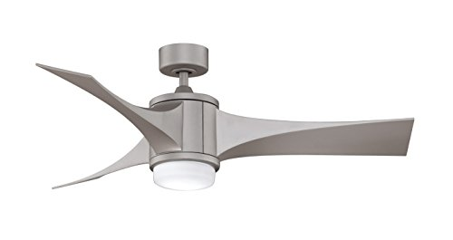 Fanimation Fpd7943Mg Jennix Fan With Composite Blade And Opal Glass, Metro Gray