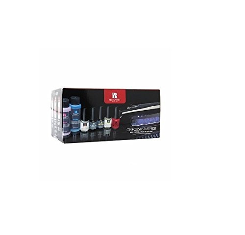 Red Carpet Manicure Gel Polish Starter Kit With Portable Plug-In Led Light 1 Kit